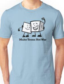 Make Toons Not War Unisex T-Shirt