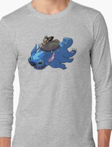 Flying Friends #2: Lilo the Last Airbender Long Sleeve T-Shirt