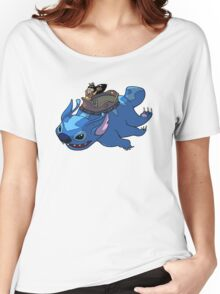 Flying Friends #2: Lilo the Last Airbender Women's Relaxed Fit T-Shirt