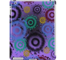 Tie Dyed Pattern iPad Case, Purples iPad Case/Skin