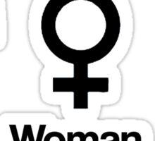 Man, Woman, Geek Sticker