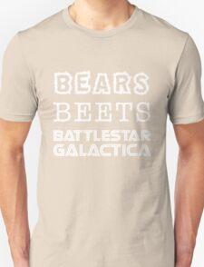 Bears Beets Battlestar Galactica Tshirt   The Office Michael Scott Dunder Mifflin Dwight Schrute Unisex T-Shirt
