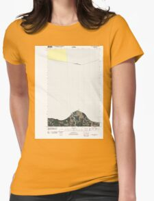 USGS Topo Map Washington State WA Angeles Point 20110419 TM T-Shirt