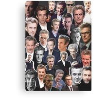 Peter Capaldi Collage Canvas Print
