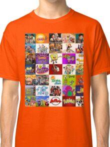 90's Kid Cartoon Mashup Classic T-Shirt