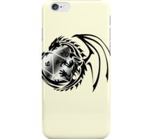 Dungeons and Dragons - Black and Silver! iPhone Case/Skin