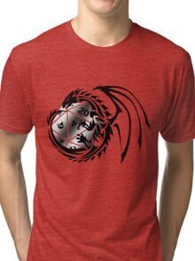 Dungeons and Dragons - Black and Silver! Tri-blend T-Shirt