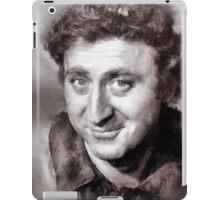 Gene Wilder Hollywood Icon by John Springfield iPad Case/Skin