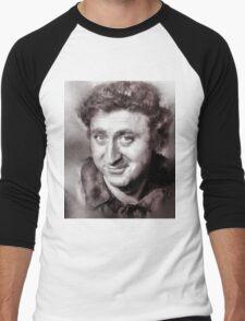 Gene Wilder Hollywood Icon by John Springfield Men's Baseball ¾ T-Shirt
