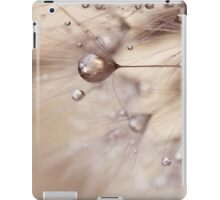 a touch of gold iPad Case/Skin