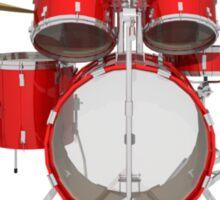 Red Drum Kit Sticker