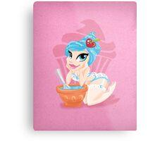 Sweet <3's - Miss Sprinkles Metal Print