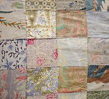 Vintage Sari Quilt iPad Case by Carol Knudsen