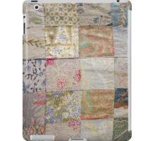 Vintage Sari Quilt iPad Case iPad Case/Skin