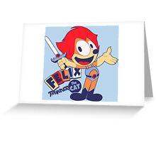 Felix the Thundercat Greeting Card