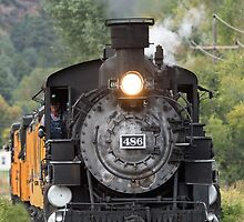 Durango & Silverton Historic Train by William C. Gladish