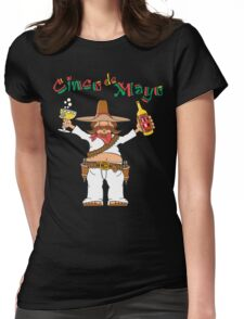 Cinco de Mayo Drinking Womens Fitted T-Shirt
