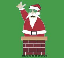 Santa's number one! Hoooooooo! by Brian Alexander