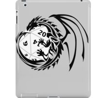 Dungeons and Dragons - Black and White! iPad Case/Skin
