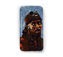 Omar Little by VanGogh - www.art-customized.com Samsung Galaxy Case/Skin