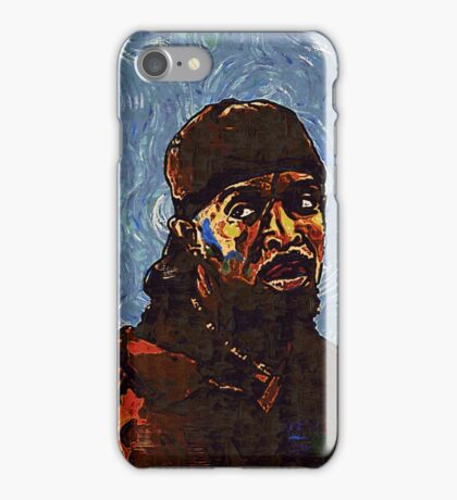 Omar Little by VanGogh - www.art-customized.com iPhone Case/Skin