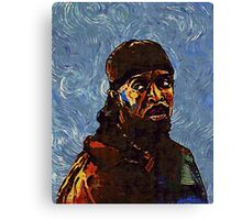 Omar Little by VanGogh - www.art-customized.com Canvas Print