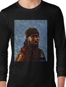 Omar Little by VanGogh - www.art-customized.com Long Sleeve T-Shirt