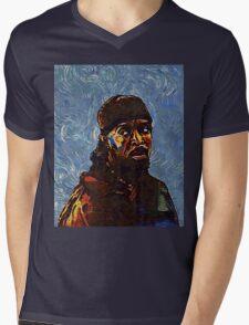 Omar Little by VanGogh - www.art-customized.com Mens V-Neck T-Shirt