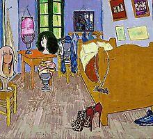 Nicki's Bedroom - www.art-customized.com by art-customized