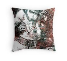 CALLS TO SANTA Throw Pillow