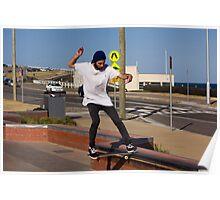 Nose Slide - Empire Park Skate Park Poster
