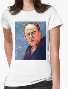 Tony Soprano by VanGogh - www.art-customized.com Womens Fitted T-Shirt