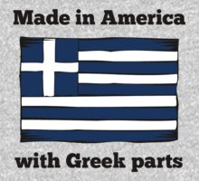 Made In America With Greek Parts One Piece - Long Sleeve