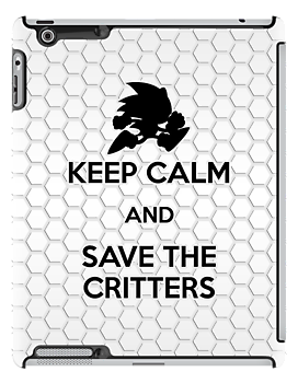 Keep Calm - Save the Critters (iPad) by Adam Angold