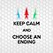 Keep Calm - Choose an Ending (iPad) by Adam Angold
