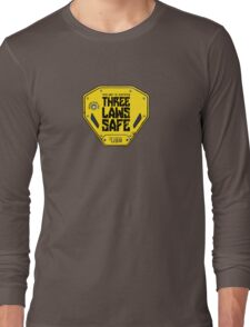 This Unit is THREE LAWS SAFE (Three Laws of Robotics) Long Sleeve T-Shirt