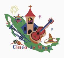 Cinco de Mayo Kids Tee