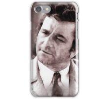 Peter Falk Columbo by John Springfield iPhone Case/Skin