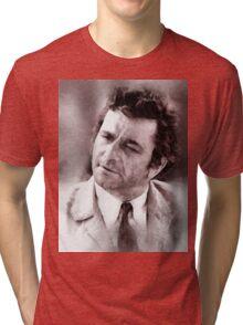 Peter Falk Columbo by John Springfield Tri-blend T-Shirt