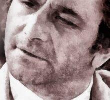 Peter Falk Columbo by John Springfield Sticker