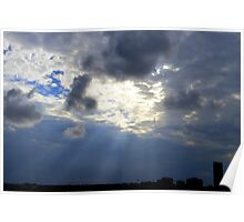 Rays Over St. Pete Poster