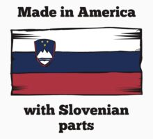 Made In America With Slovenian Parts One Piece - Short Sleeve