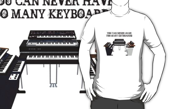 Too Many Keyboards! by bradyarnold