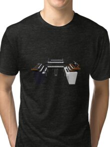 Vintage Synthesizers / Keyboards Tri-blend T-Shirt