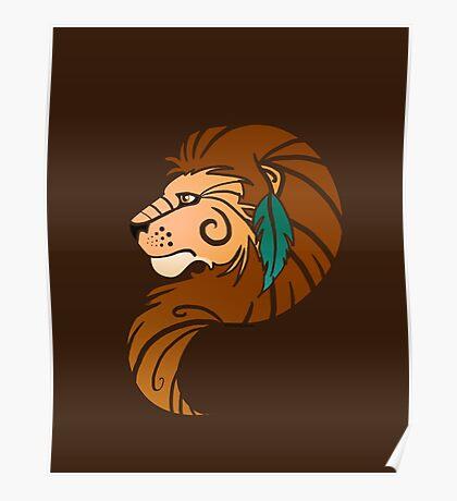 Spirit Animal: Lion Poster
