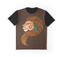Spirit Animal: Lion Graphic T-Shirt