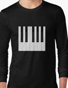 Piano / Keyboard Keys Long Sleeve T-Shirt
