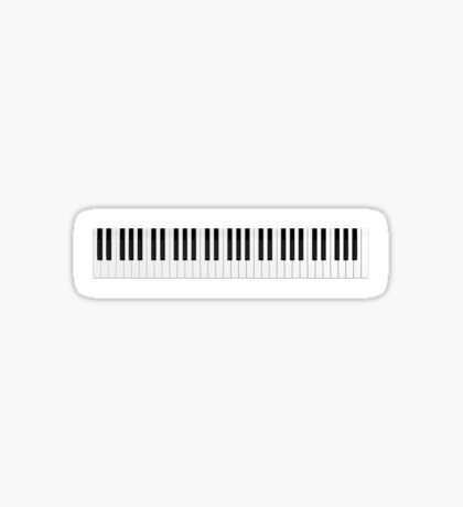 Piano / Keyboard Keys Sticker