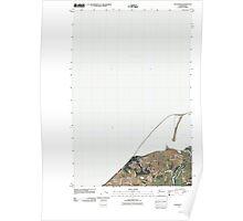 USGS Topo Map Washington State WA Dungeness 20110419 TM Poster