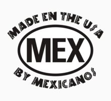 Made In USA By Mexicano Kids Tee